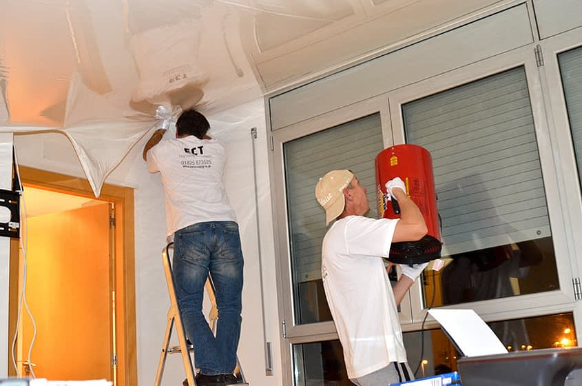 office ceiling installers