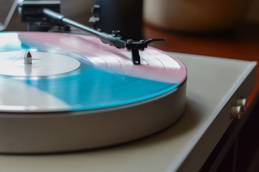 Record playing on turntable - Photo by Lee Campbell on Unsplash