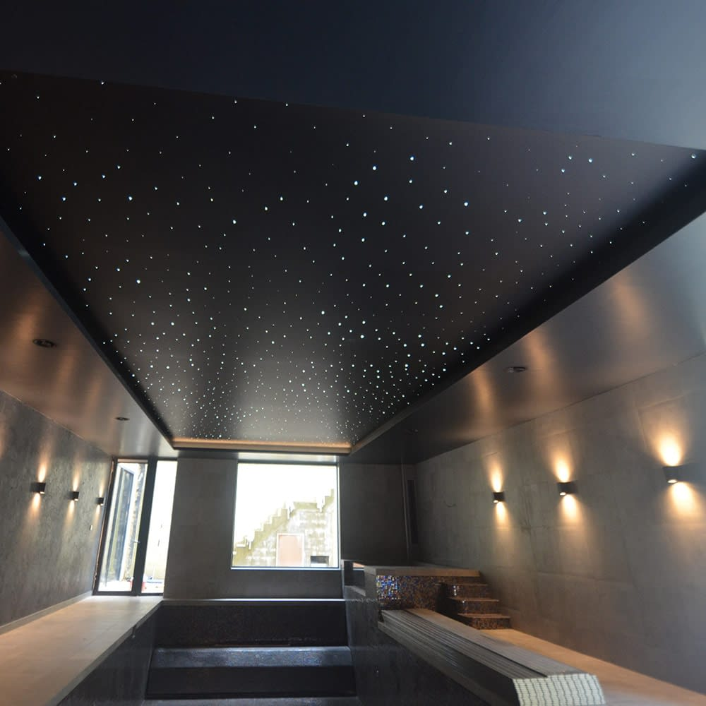 residence london pool stretch ceiling