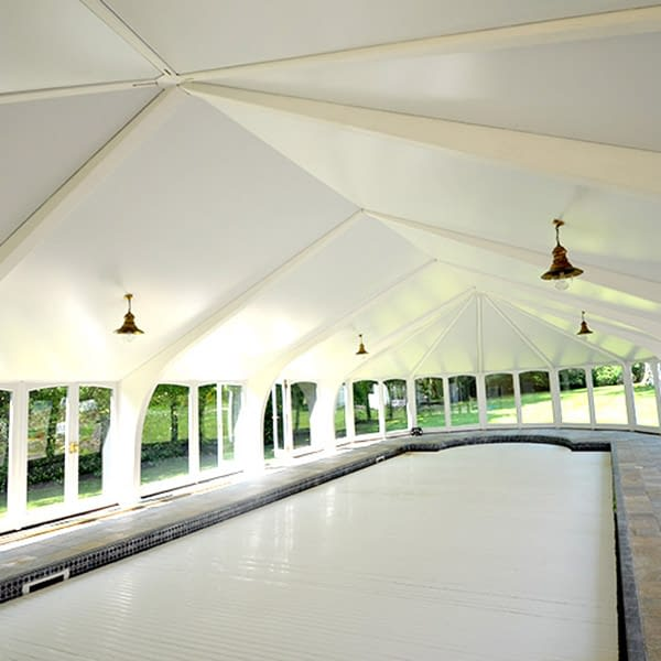 swimming pool stretch ceiling