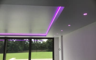 Stretch Ceiling Lighting – New Options