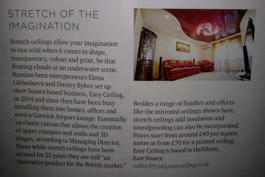 Sussex lIfe Feature