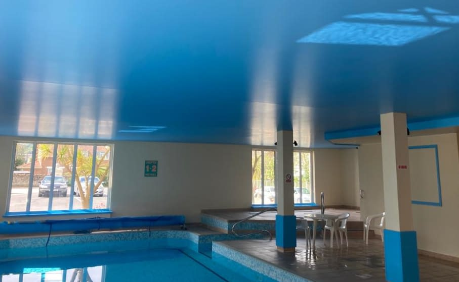 Stretch Ceiling Replacement Swimming Pool