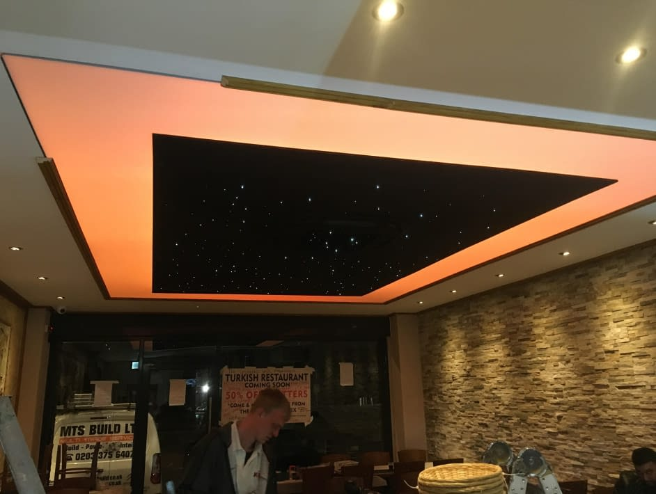 Restaurant ceiling design London