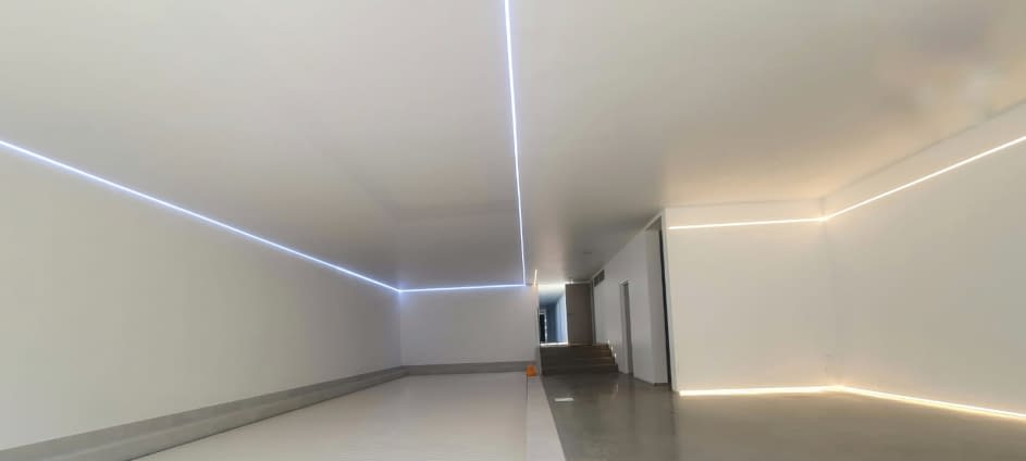 Universal LED Stretch Ceiling Lighting Track