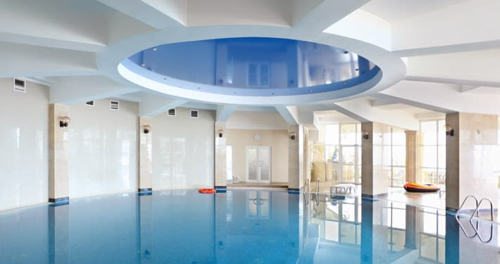 Stretch Ceiling for swimming pool