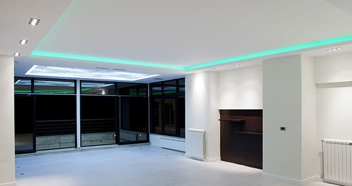 led lighting stretch ceiling