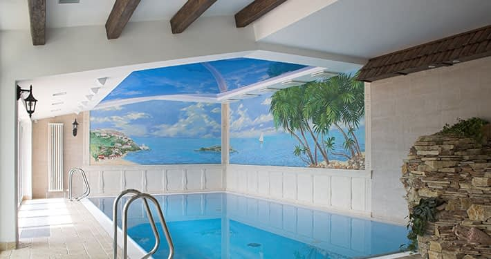Swimming Pool Ceilings Easy Ceiling Technologies