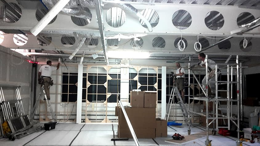 showroom ceilings